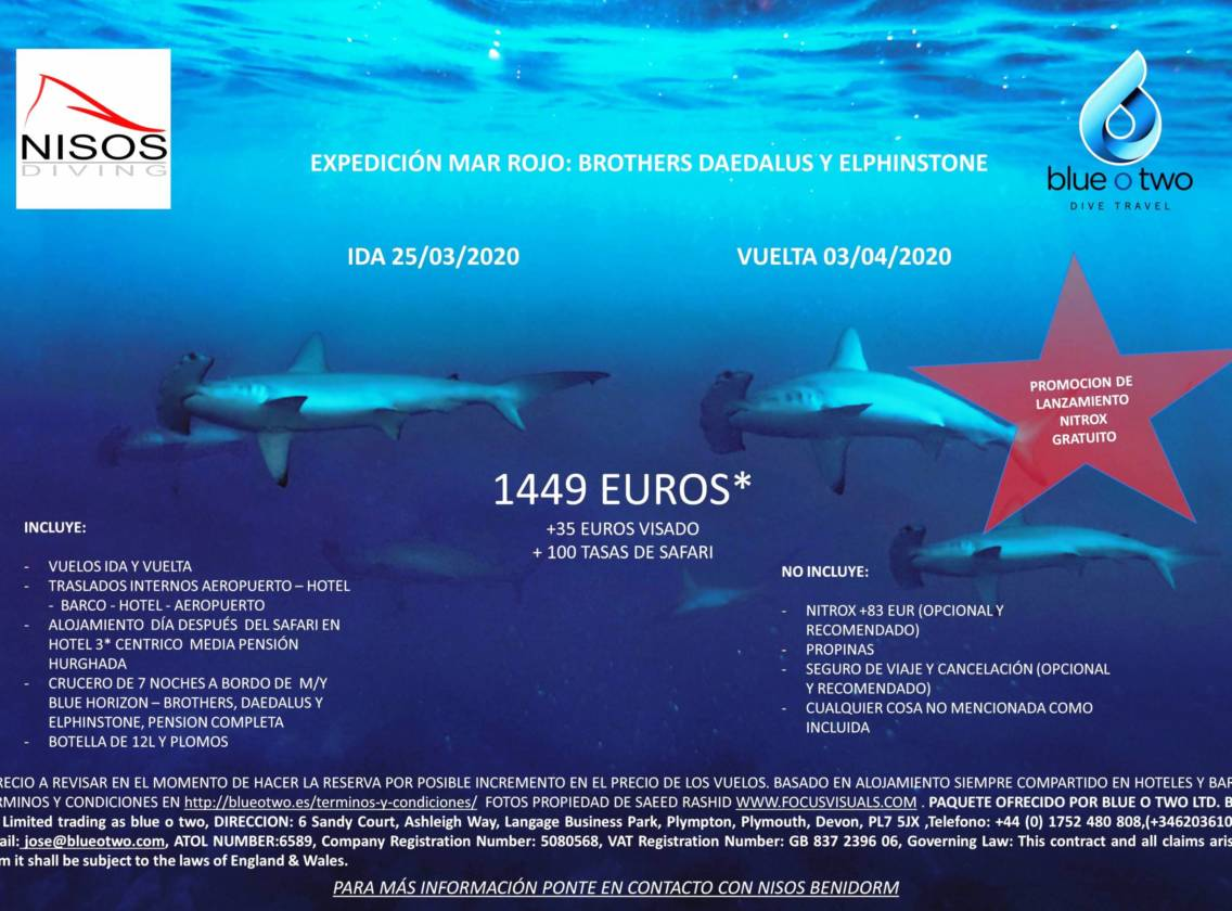 Lo Mejor del Mar Rojo – Marzo 2020