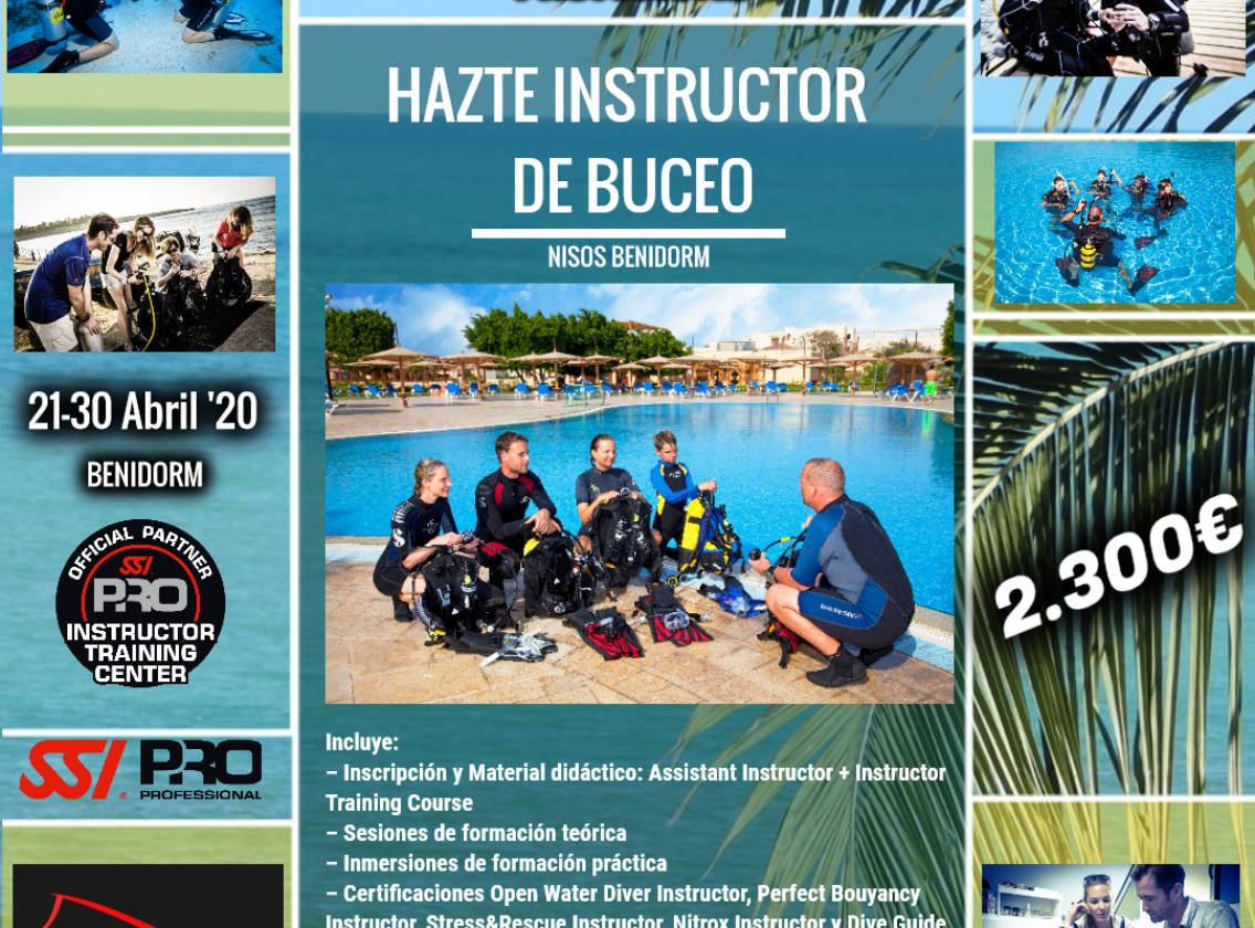 Curso Instructor SSI Buceo